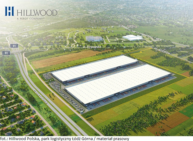 Deweloper Hillwood Polska zakończył komercjalizację pierwszego budynku w parku logistycznym Łódź Górna