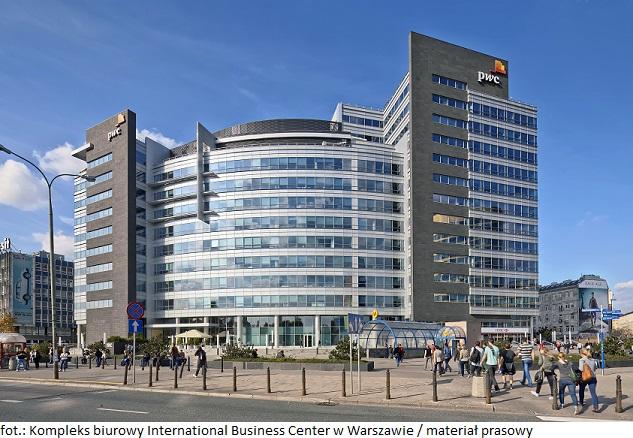 Kompleks biurowy International Business Center w Warszawie pozyskał nowego najemcę