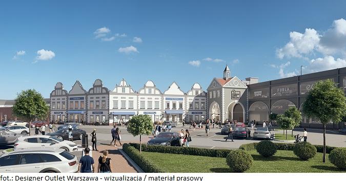 Rozbudowa Designer Outlet Warszawa  – pierwsze salony w nowym skrzydle