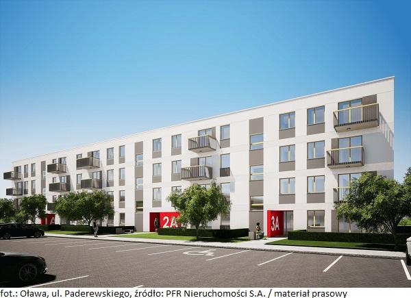 Mieszkanie Plus w Oławie – generalny wykonawca inwestycji został wybrany