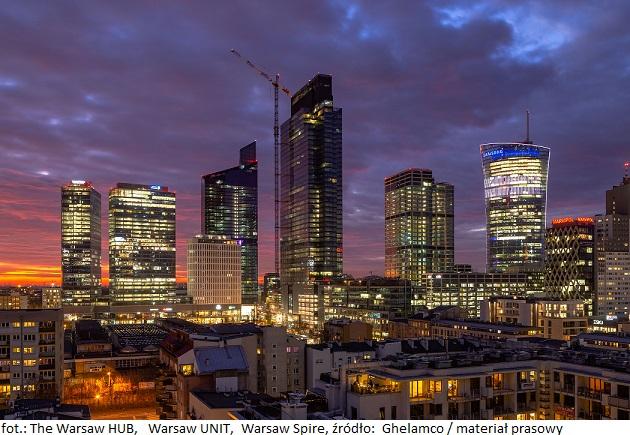 The Warsaw HUB_ Warsaw UNIT_Warsaw Spire_Ghelamco