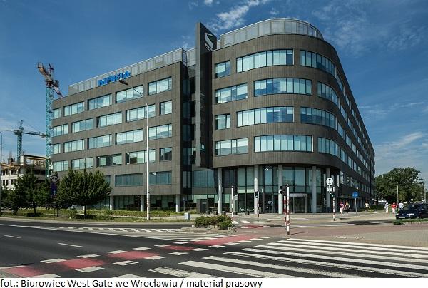 Nokia zostaje w biurowcach West Gate i West Link we Wrocławiu