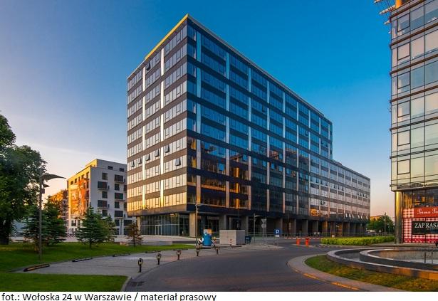 Firma MR Studio wynajmie ponad 400 mkw. w budynku Wołoska 24 w Warszawie