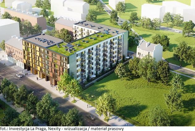 Wraz z nową inwestycją Nexity na Pradze pojawią się zmiany