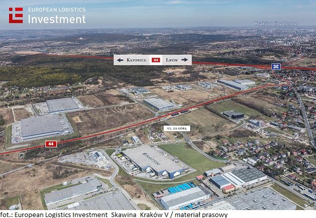 Najnowsza inwestycja European Logistics Investment w regionie Krakowa powiększy portfolio spółki o ponad 18 000 mkw. powierzchni logistycznej