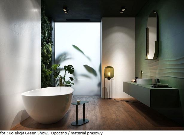 Białe łazienki w nieszablonowym wydaniu: kolekcje płytek ściennych Opoczno