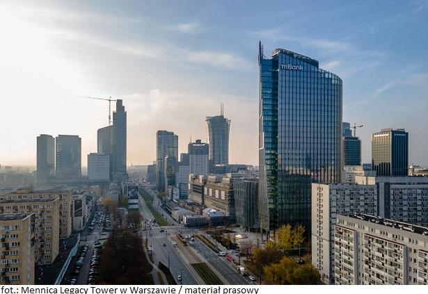 Mennica Legacy Tower w Warszawie z najemcami na pokładzie
