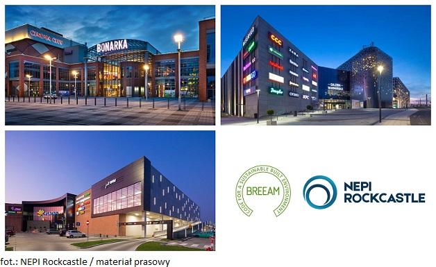 NEPI Rockcastle kontynuuje zieloną certyfikację galerii