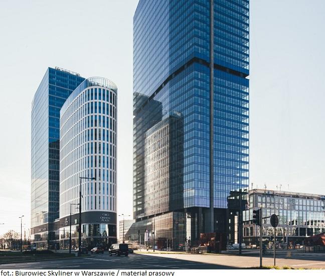MicroStrategy wprowadzi się do biurowca Skyliner w Warszawie
