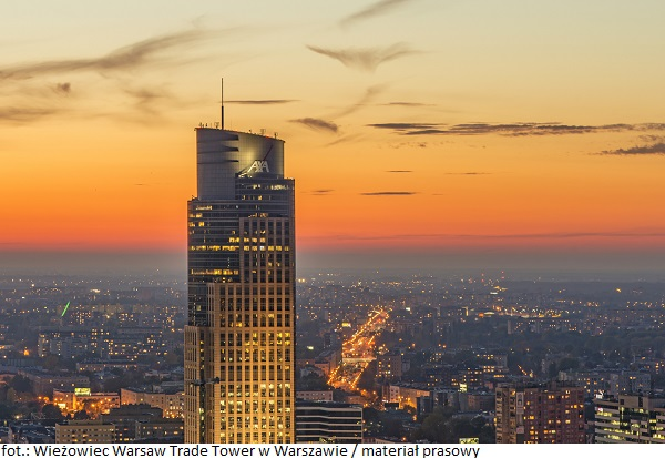 Wieżowiec Warsaw Trade Tower w Warszawie