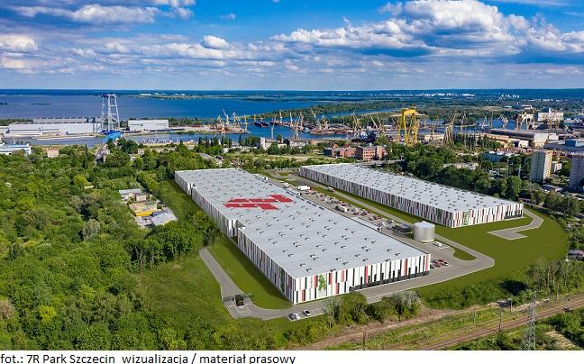 Deweloper 7R buduje rynek magazynowy w Szczecinie