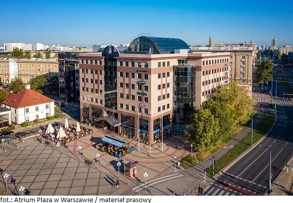 Biurowiec w Warszawie – Atrium Plaza – przejdzie modernizację