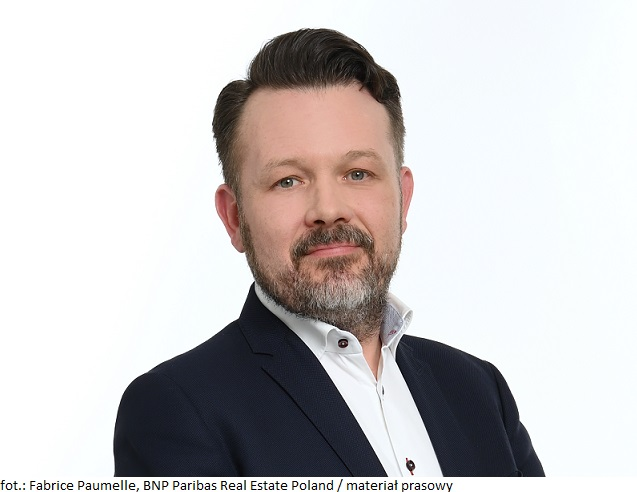 Fabrice Paumelle, BNP Paribas Real Estate Poland