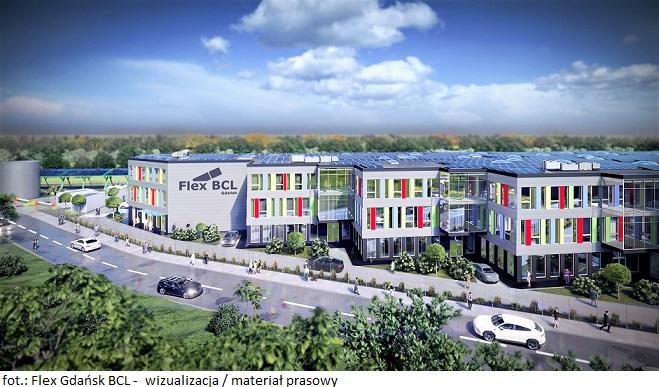 Inwestycja magazynowo-usługowo-biurowa Flex Gdańsk BCL rozpoczyna proces komercjalizacji