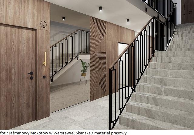 Mieszkania na sprzedaż: Skanska rozpoczyna budowę czwartego etapu osiedla Jaśminowy Mokotów