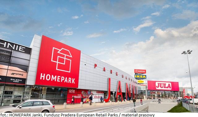 Nowi najemcy w HOMEPARK Janki – parku handlowym należącym do portfolio Funduszu Pradera European Retail Parks