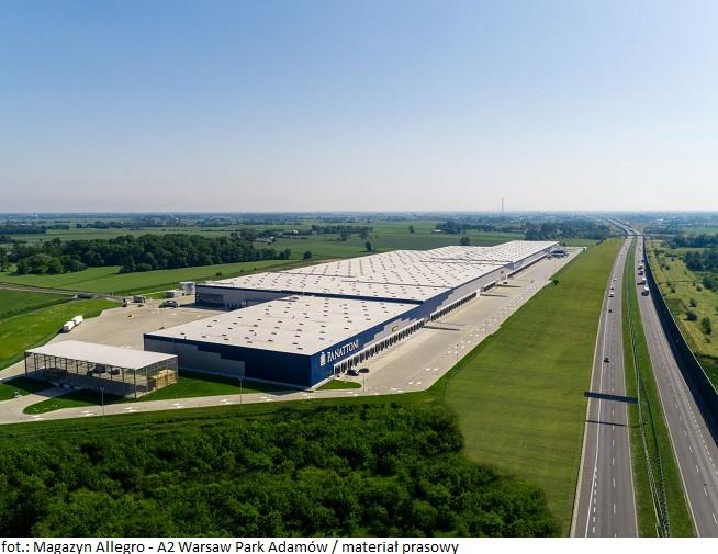 Allegro buduje nowe centrum logistyczne – A2 Warsaw Park Adamów