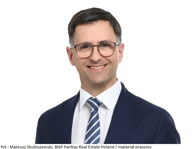 Mateusz Skubiszewski, BNP Paribas Real Estate Poland