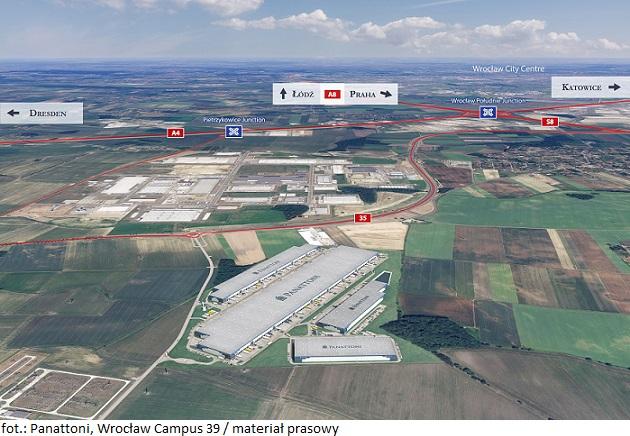 Wrocław Campus 39 dostarczy na rynek 200 000 m kw. powierzchni magazynowej dedykowanej e-commerce i elektromobilności