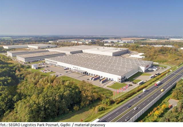Większa powierzchnia magazynowa dla Logista Polska w SEGRO Logistics Park Poznań, Gądki