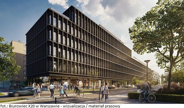 Biurowiec w Warszawie X20 z nowym najemcą – do biur wprowadza się InPost