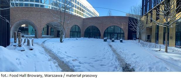 Food Hall Browary - nowy koncept gastronomiczny w historycznym miejscu Warszawy