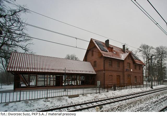 Dworzec w Suszu otwarty po przebudowie