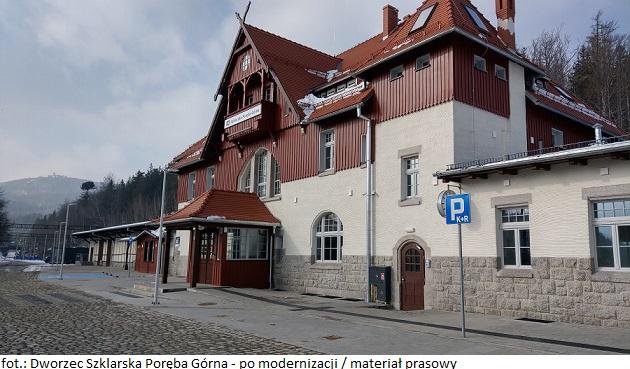 Dworzec Szklarska Poręba Górna - po modernizacji (1)