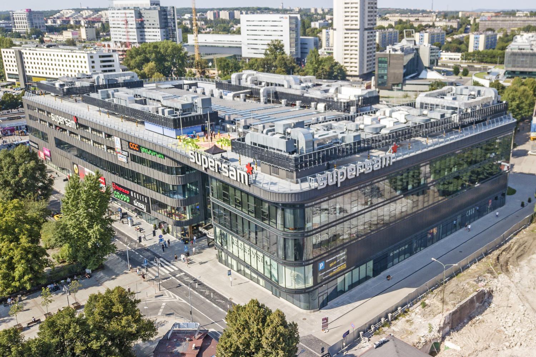 Inwestycja Supersam w Katowicach