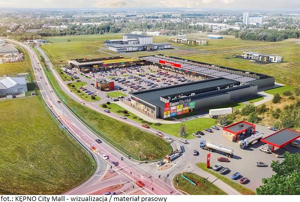 KĘPNO City Mall wizualizacja