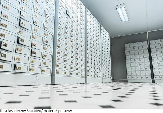 Bezpieczny Skarbiec:  20 procent skrytek wynajętych. Niesłabnący popyt na złoto inwestycyjne wzmaga zainteresowanie skrytkami depozytowymi