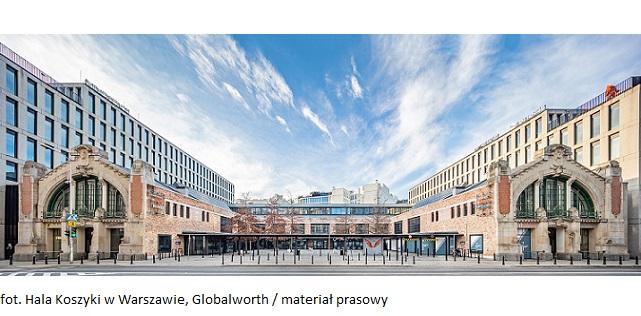 Hala Koszyki w Warszawie stanie się mapą – kreatywny sposób na dotarcie do nowej grupy klientów