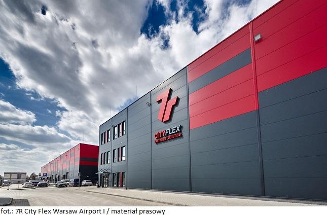 Magazyn na wynajem: Adara nowym najemcą w 7R City Flex Warsaw Airport I