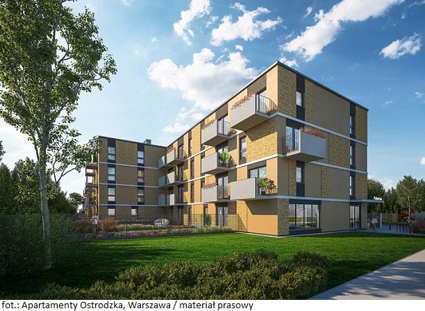 Apartament w Warszawie na sprzedaż: projekt Apartamenty Ostródzka I gotowy przed terminem