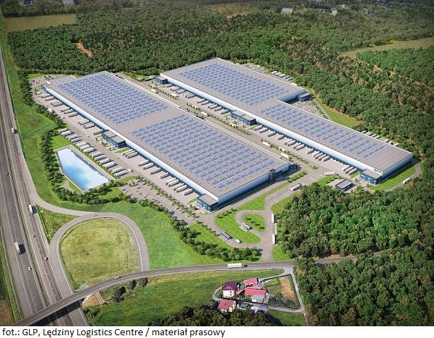 GLP_Lędziny Logistics Centre_z góry