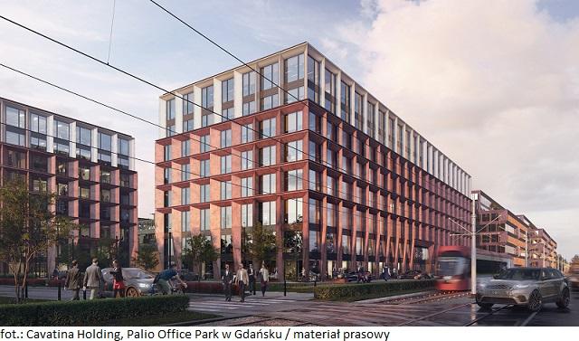 Inwestycja Palio Office Park w Gdańsku z pozwoleniem na użytkowanie