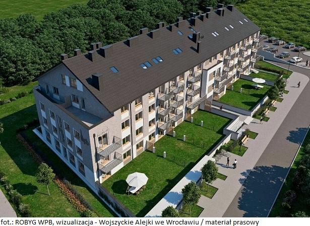Mieszkanie na sprzedaż we Wrocławiu? Nowość od ROBYG WPB na Wojszycach