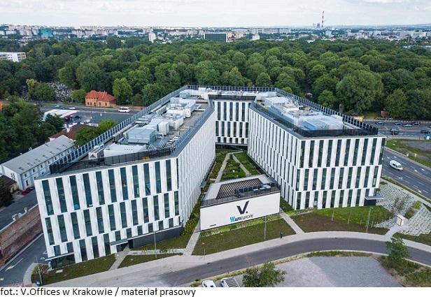 Biurowiec w Krakowie wynajmuje powierzchnię: V.Offices podpisał umowę najmu z firmą Ringier Axel Springer Polska