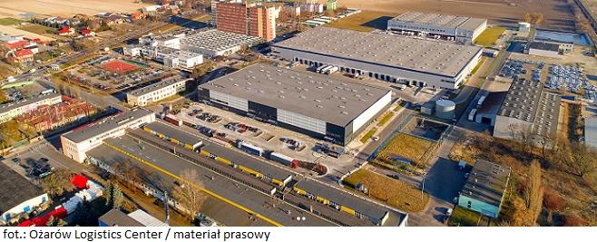 Magazyn w Ożarów Logistics Center II wynajęty przez DSV Solutions