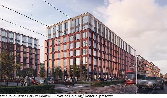 Budynek kompleksu biurowo-usługowego w Gdańsku z certyfikacją BREEAM Excellent