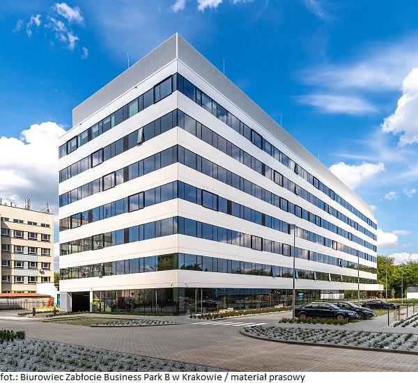 Biurowiec Zabłocie Business Park B w Krakowie przyciągnął kolejnego najemcę