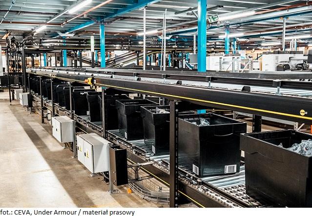CEVA Logistics zarządza jednym z najnowocześniejszych magazynów omnichannel Under Armour