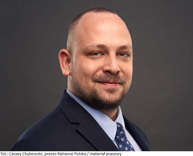 Cezary Chybowski, prezes Reliance Polska