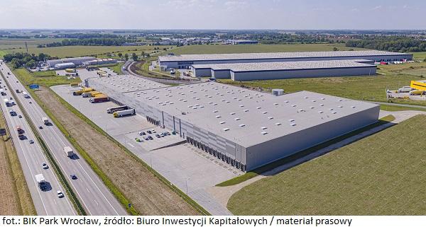 Grupa BIK rozpoczęła II etap budowy parku logistycznego BIK Park Wrocław