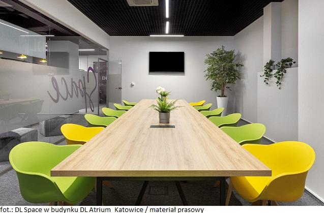 DL Space w budynku DL Atrium_Katowice