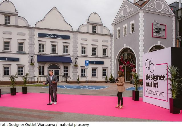 Więcej powierzchni handlowej w Warszawie: Designer Outlet Warszawa zakończyło rozbudowę