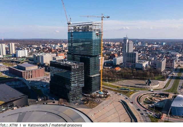 Kompleks biurowy .KTW I w Katowicach z nowym najemcą na elastyczne przestrzenie biurowe