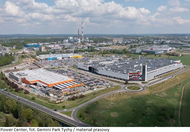 """Tychy: Rośnie handlowe """"Power Center"""", które dostarczy nowoczesne lokale handlowe na wynajem"""