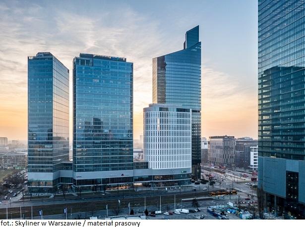 Dom Maklerski X-Trade Brokers zajmie blisko 4 400 mkw. powierzchni biurowca Skyliner w Warszawie