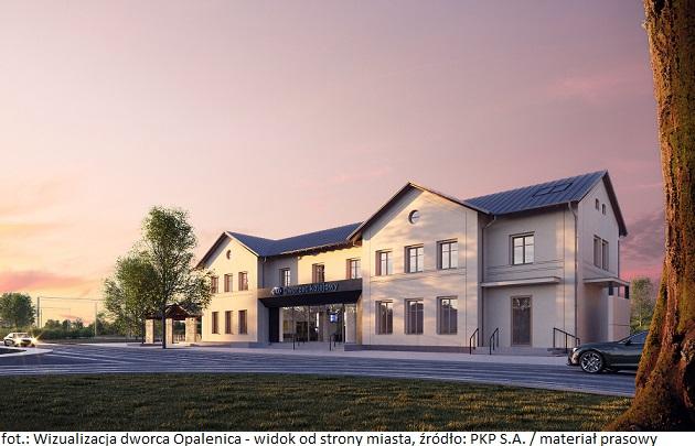 PKP S.A.: rozpoczyna się przebudowa dworca Opalenica